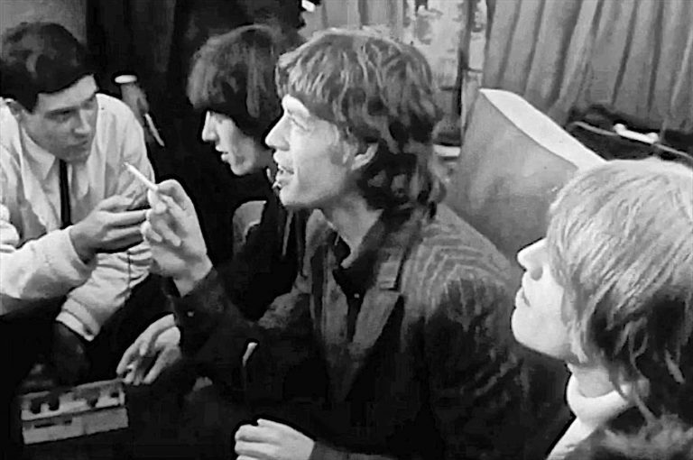 Paul Interviewing the Rolling Stones, 1966